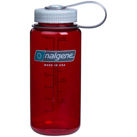 Nalgene Everyday Wide Neck Drinking Bottle 500ml, outdoor red